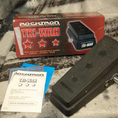 Rocktron Tri-Wah Pedal with Box triwah for sale