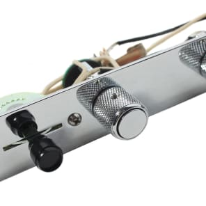 920D Custom Shop T5W-JB-C 5-Way Tele James Burton Loaded Control Plate w/ S1 Super Switch
