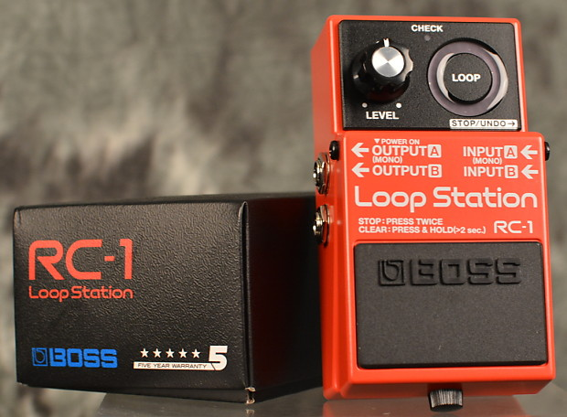 boss rc 1 loop station pedal w free same day shipping reverb. Black Bedroom Furniture Sets. Home Design Ideas