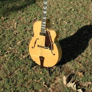 Alan Carruth Blue Jay Archtop Guitar 1991 Blonde - VIDEO for sale