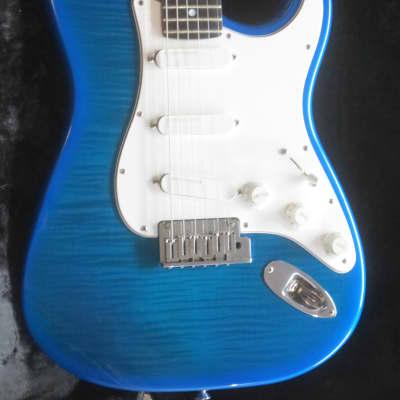 1996/97 Fender Strat Ultra Flamed Blue Burst for sale