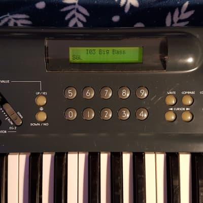 Korg 707 49-Key Performing Synthesizer 1987 Black