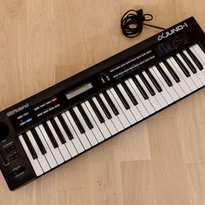 1980s Roland Juno Alpha-1 JU-1 Vintage Analog Polyphonic Synthesizer