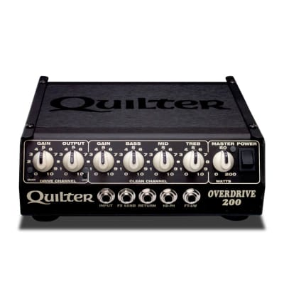 NEW! Quilter Overdrive 200 - Dumble Style Guitar Head FREE SHIPPING!