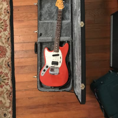 Fender Kurt Cobain Signature Mustang Fiesta Red left handed for sale