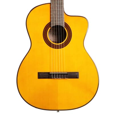 Takamine GC3CE Classical Acoustic-Electric Guitar in Natural for sale