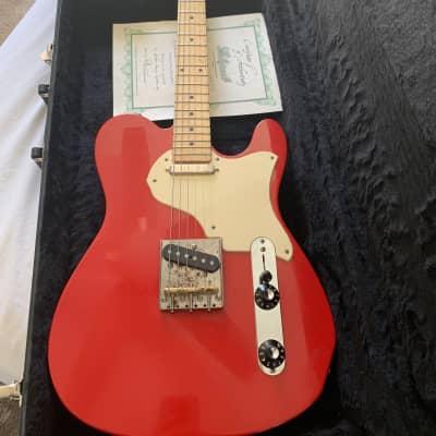 Echopark Echocaster  2017 El Diablo Red for sale