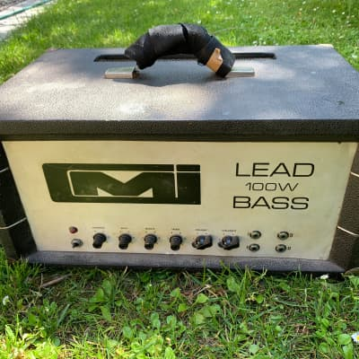 Cmi marshall Lead and bass 1976 Black for sale