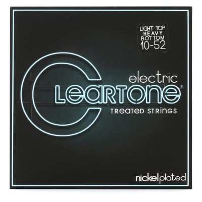 Cleartone 9420 Nickel Plated 10-52 Electric Strings