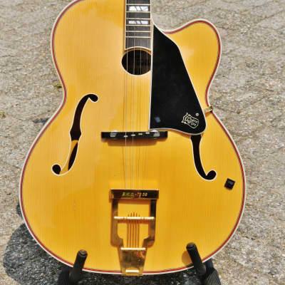 Klira BKO Jazz Tone TG-58 Tenor Guitar 1984 Natural for sale