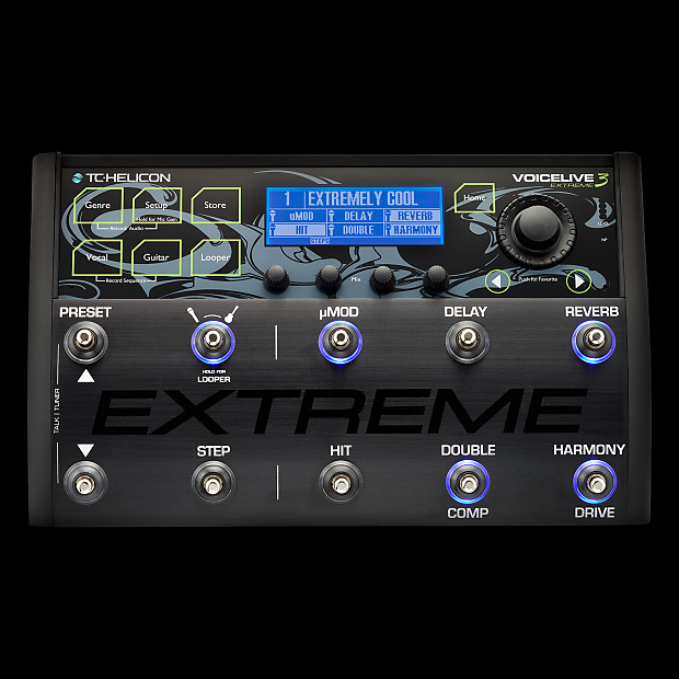 tc helicon voicelive 3 extreme vocal effects processor reverb. Black Bedroom Furniture Sets. Home Design Ideas