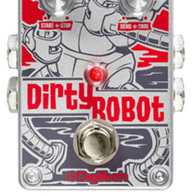 Digitech Dirty Robot Stereo Mini-Synth Guitar Effect Pedal for sale