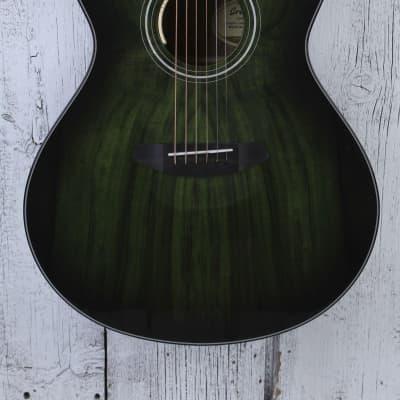 Breedlove Oregon Concerto CE Acoustic Electric Guitar LTD Emerald Gloss w Case for sale
