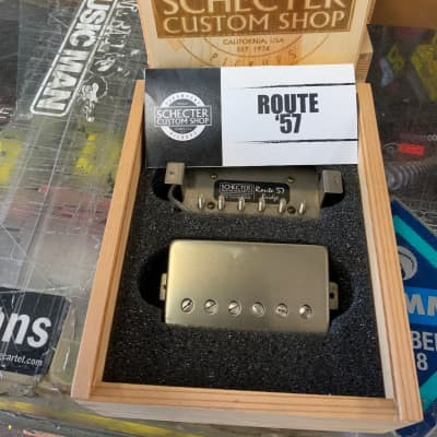 Schecter USA CUSTOM SHOP Route '57 Nickel Covers Pickup Set for sale
