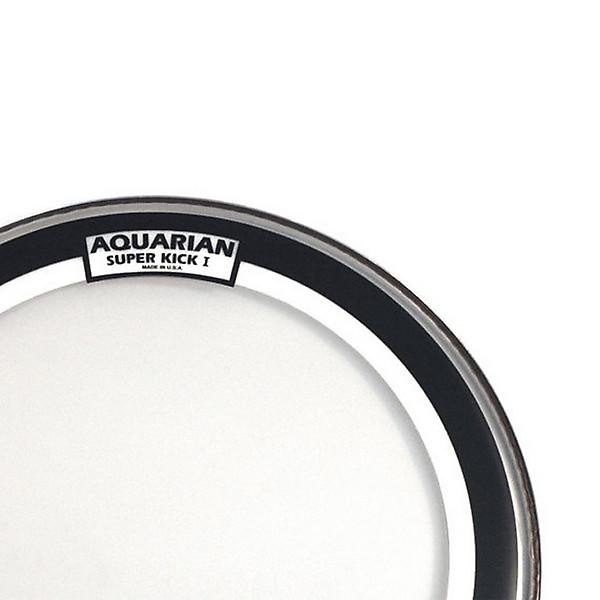 aquarian 24 inch super kick i coated single ply bass drum reverb. Black Bedroom Furniture Sets. Home Design Ideas
