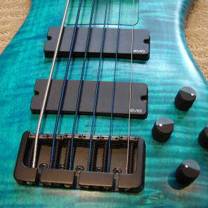 2003 Spector NS-JH6 Blue Flame Maple for sale