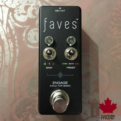 Chase Bliss Audio Faves Switch