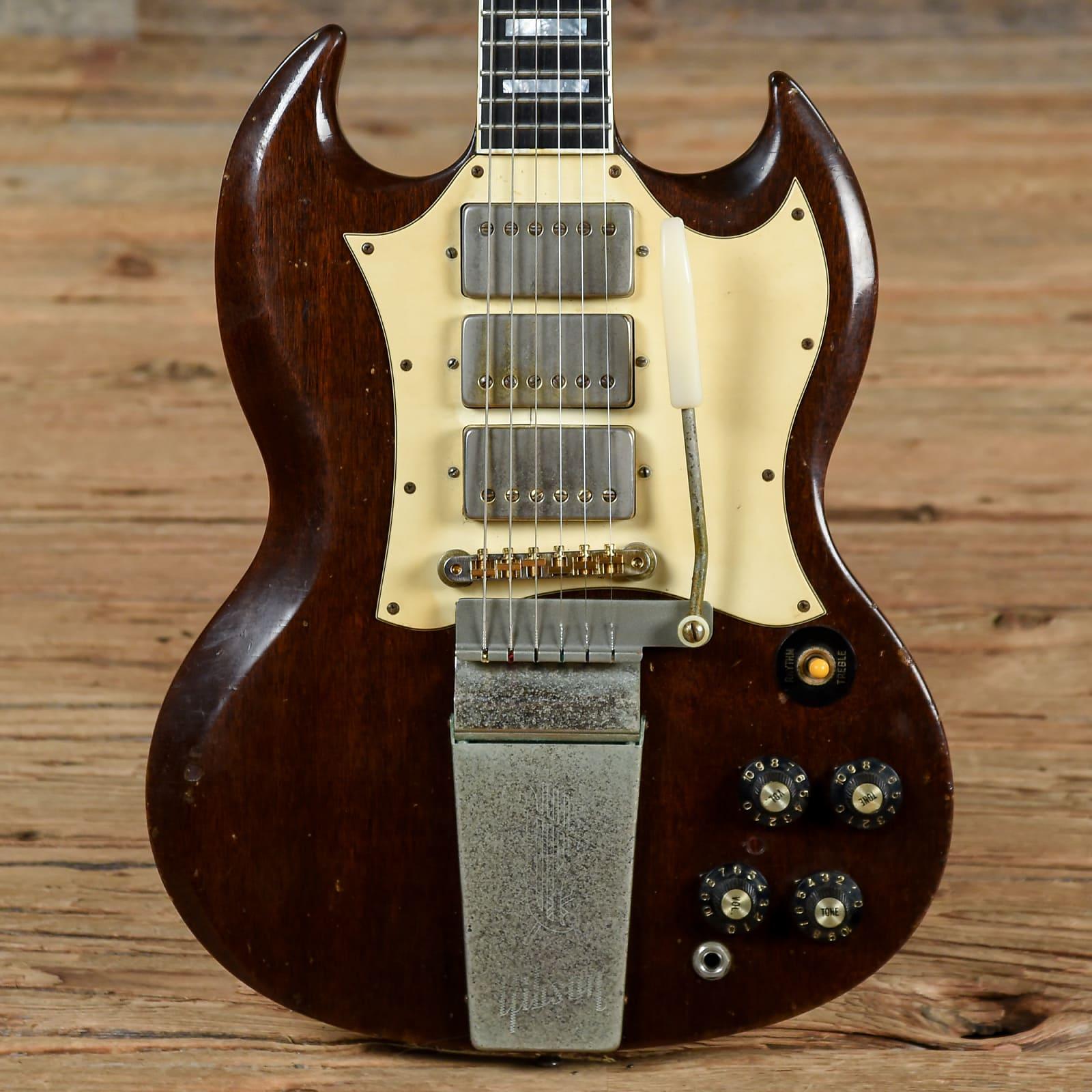 gibson sg custom walnut 1969 s959