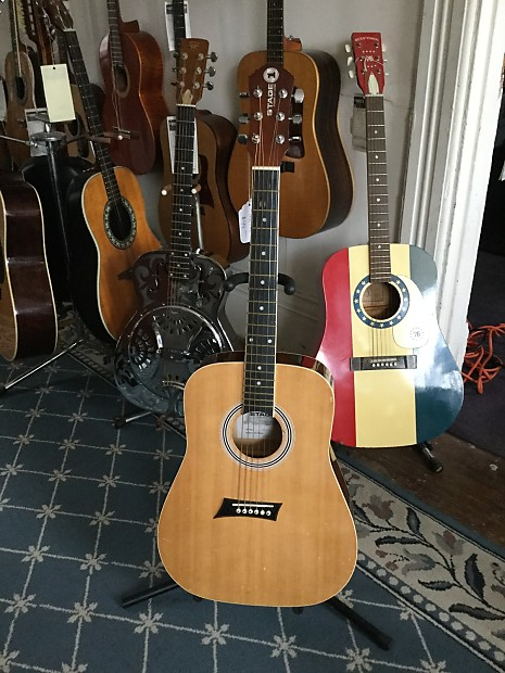 Stage 1 Mks1tq Acoustic Guitar Newer Natural Mike S Reverb