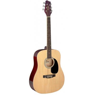 Stagg 1/2 Size Dreadnought Acoustic guitar in Natural Gloss for sale