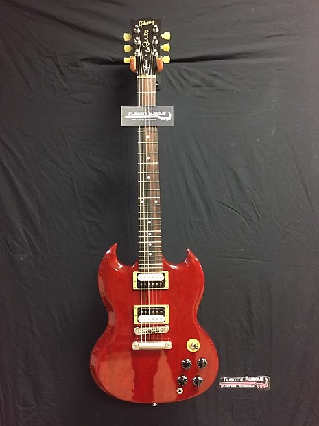 gibson les paul 100 special sg 2015 cherry red reverb. Black Bedroom Furniture Sets. Home Design Ideas