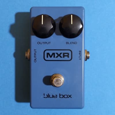 MXR Blue Box Block Logo (Script backplate) 1978 w/box