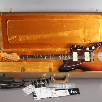 2008 Fender American Vintage 1962 Reissue Jazzmaster Sunburst '62 AVRI -Mastery Bridge- for sale