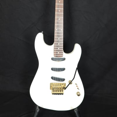 Claim by Sonor Strat-type from the 80s with Floyd Rose Tremolo and case for sale