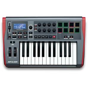 NOVATION Impulse 25 Controller USB-MIDI 25 tasti con drumpad