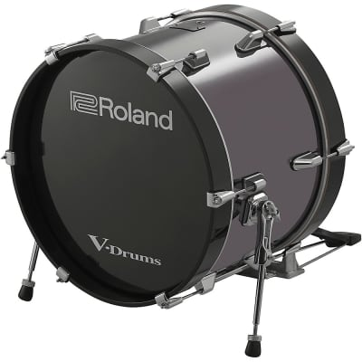 """Roland KD-180 18"""" Acoustic Electronic Bass Drum Regular"""