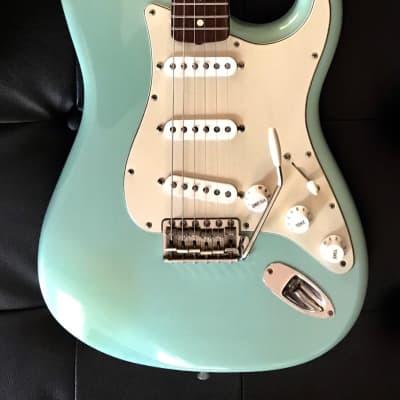 "Fender Custom Shop 1960 Stratocaster NOS ""Time Machine"" - Rare Daphne Blue - Natural Time Relicing - June 2000 CE for sale"
