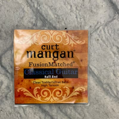 Curt Mangan 90612 Fusion Matched Classical Guitar Nylon Strings - High Tension Ball End
