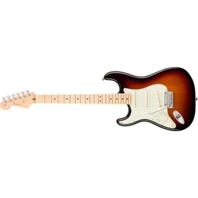 Fender American Professional Stratocaster, left hand, 3 Tone Sunburst, maple for sale