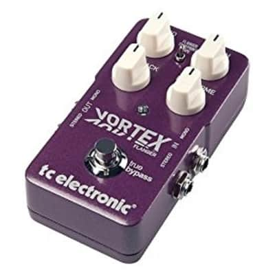 TC Electronic TonePrint Vortex Flanger Pedal with 2 Built-In Flanger Modes and Deep Control
