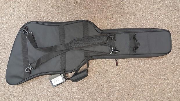 31186f0ac6f Hamer Standard (Explorer shape) gig bag, black, model   Reverb