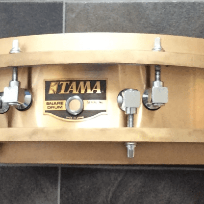 "Tama PM-423 Power Metal Bell Brass 3.25x14"" Piccolo Snare Drum 1988 - 1994"