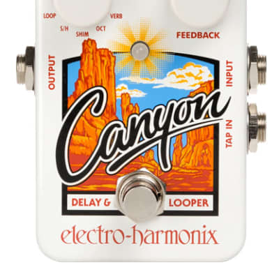 Electro Harmonix Canyon Delay and Looper White for sale