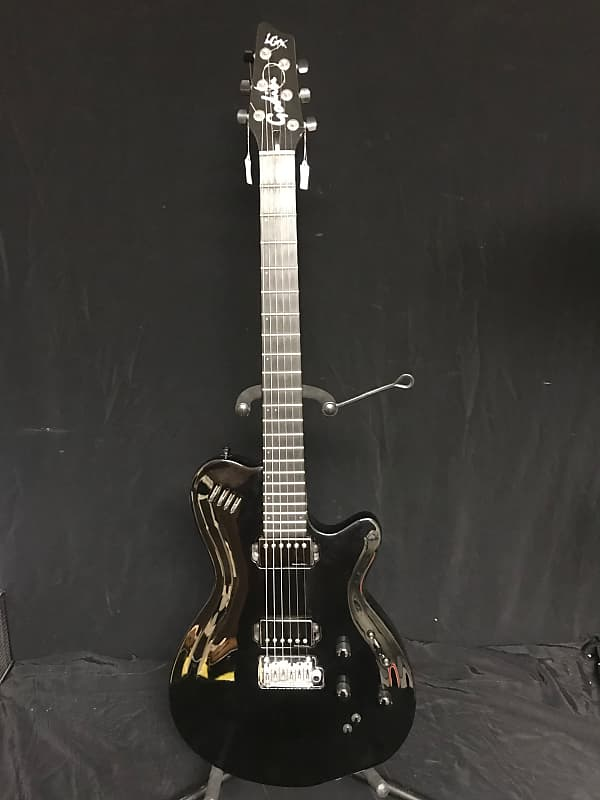godin lgx sa w hard case and synth access used ig68 reverb. Black Bedroom Furniture Sets. Home Design Ideas