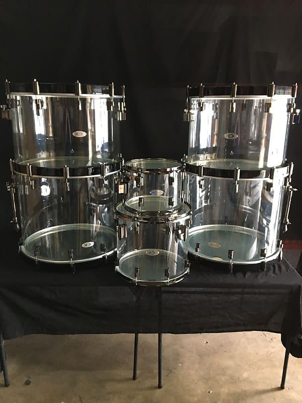 drumcraft series 8 acrylic drum set bucktown electronics reverb. Black Bedroom Furniture Sets. Home Design Ideas