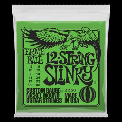 Ernie Ball 2230 Slinky 12-String Nickel Wound Electric Guitar Strings - 8-40