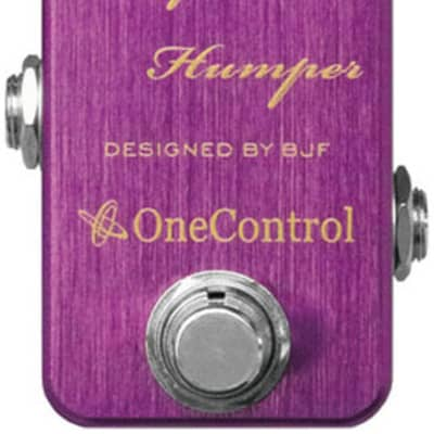 One Control Purple Humper Mid Boost Pedal for sale