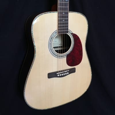 Ventura V22 Natural Acoustic Guitar