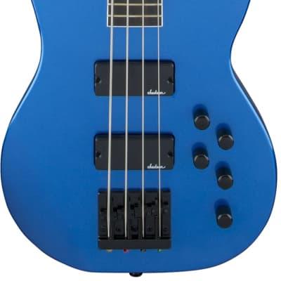 Jackson JS Series Concert Bass JS3. Amaranth FB, Metallic Blue