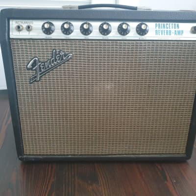 [Now Shipping] Fender Princeton Reverb Amp Mid to late 1969 Black Tolex/Silverface