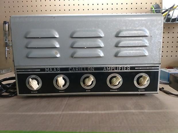 MAAS Carillon Amplifier, Modified Guitar Amp