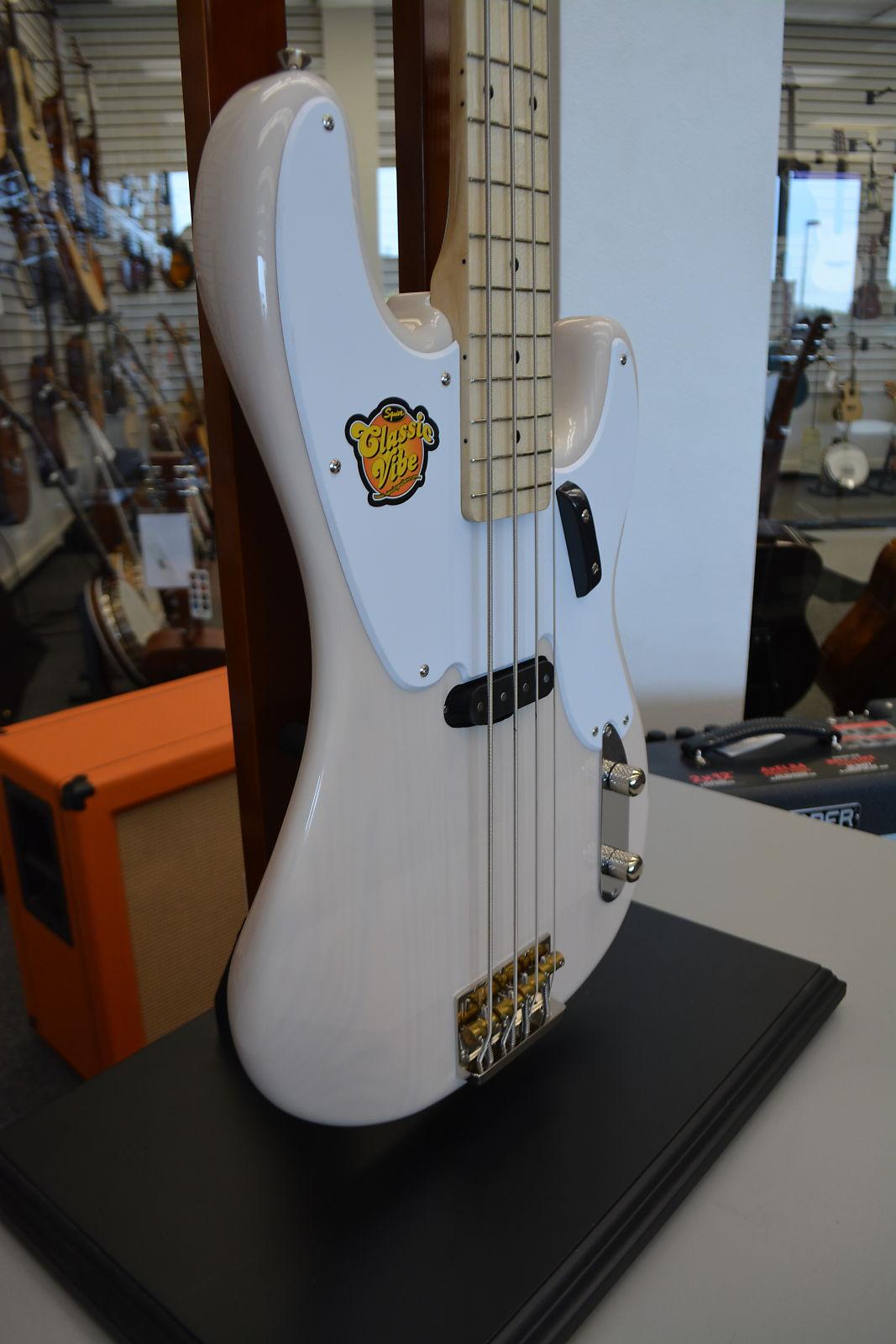 Squier Classic Vibe Precision Bass '50s - White Blonde