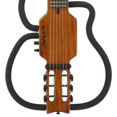 NEW ARIA AS-101S SINSONIDO ACOUSTIC GUITAR WITH GIG BAG + HEADPHONES for sale