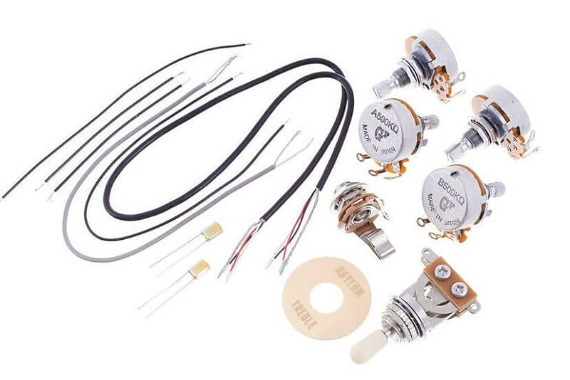 Peachy Gotoh Hosco Lespaul Sg Guitar Wiring Harness Kit Circuit Reverb Wiring 101 Swasaxxcnl