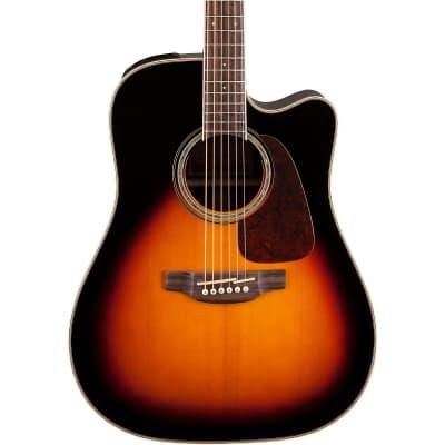 Takamine GD51CE BSB  Dreadnought Cutaway Acoustic/Electric Guitar Gloss Brown Sunburst