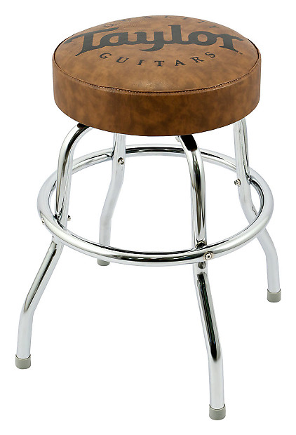 Phenomenal Taylor Logo 24 Brown Studio Guitar Stool Rainbow Guitars Ocoug Best Dining Table And Chair Ideas Images Ocougorg